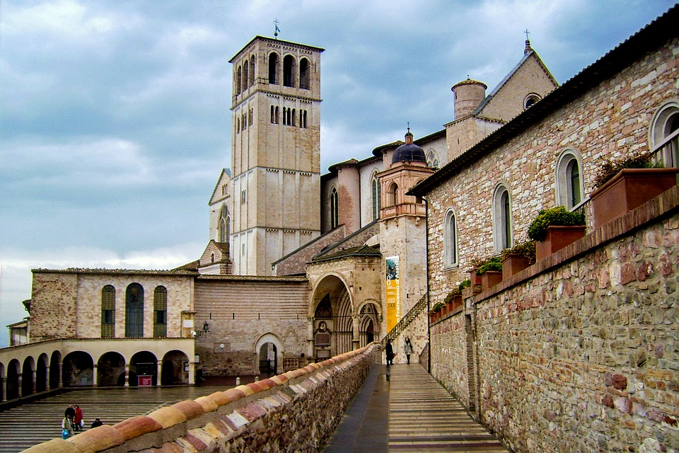 Visit the magnificent Basilica of Saint Francis of Assisi