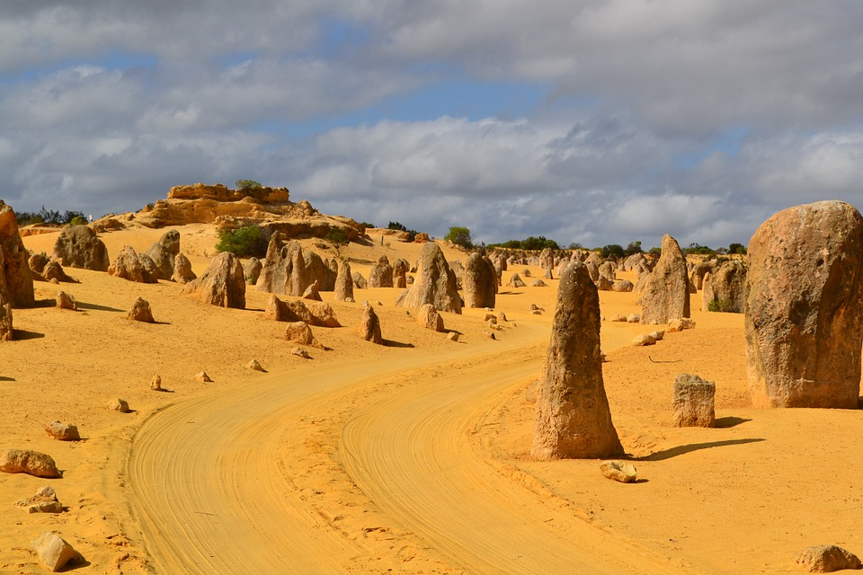 Nambung National Park - home of the Pinnacles